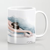 ballet Mugs featuring Ballet by rchaem