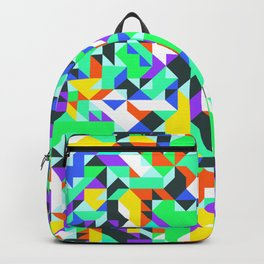 Off-Beat Geometric Shapes V.02 Backpack