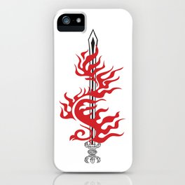 Kurikara Fire sword  iPhone Case