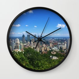 montreal • photography Wall Clock
