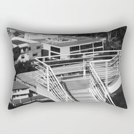 Getty Museum Contrast Stairs Rectangular Pillow