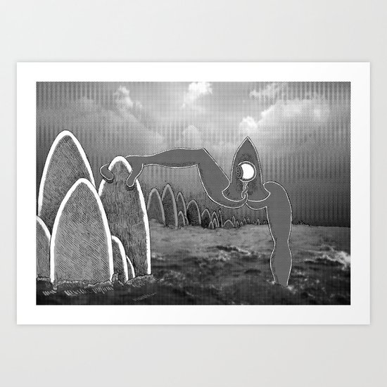 Obstacle Art Print