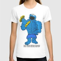 cookie monster T-shirts featuring The Cookie Monster Lifts by VeilSide07