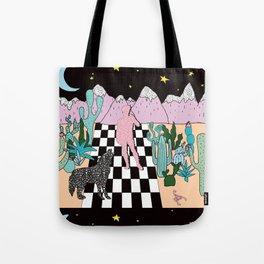 Postmodern Desert Dream Tote Bag