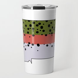 Montana Rainbow Trout Travel Mug