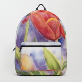 Diane L - Les tulipes Backpack