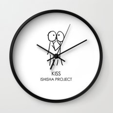 KISS by ISHISHA PROJECT Wall Clock