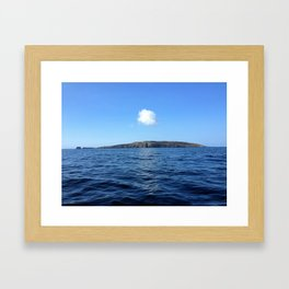 Lonely as a cloud Framed Art Print