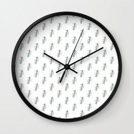 Shisha pattern Wall Clock