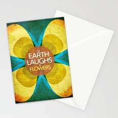 The Earth Laughs in Flowers Stationery Cards