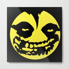 "MISFITSMILE ""Have a day"" Metal Print"