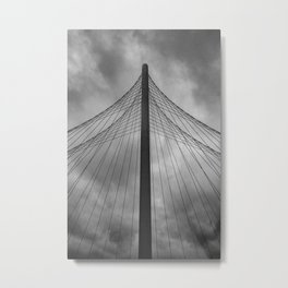 Pointing to the sky Metal Print