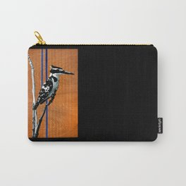 Ugandan Pied King Fisher Carry-All Pouch