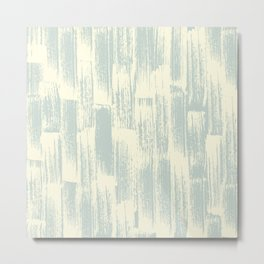 Modern Brush Stroke Metal Print