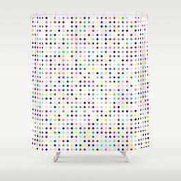 Hirst Polka Dot Shower Curtain