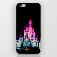 disney castle iPhone Skin
