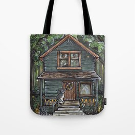 Lettie at the Rabbit's House Tote Bag