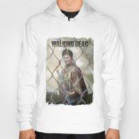 walking dead Hoodies featuring The Walking Dead by ketizoloto
