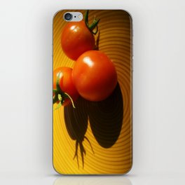 Abstract Tomato iPhone Skin