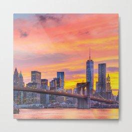 Candyland, New York Metal Print
