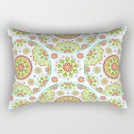 Lotus Mandala Rectangular Pillow