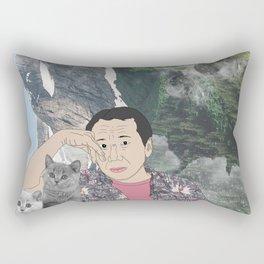 HARUKI MURAKAMI Rectangular Pillow