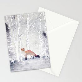 FOX FOX FOX Stationery Cards