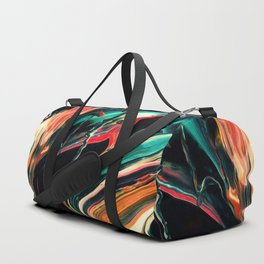 ABSTRACT COLORFUL PAINTING II-A Duffle Bag