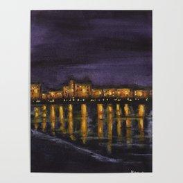 Night in Prague Poster