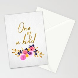 One of a kind - Flower Collection Stationery Cards