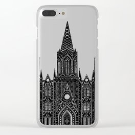 Cathedral (Barcelona) Clear iPhone Case