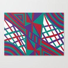 Purple Infusion Canvas Print