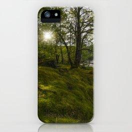 Morning River Sun iPhone Case
