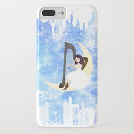 Harp girl 5: Connection iPhone Case