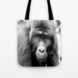 Silver back Gorilla Tote Bag