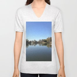 Let Us Reflect Unisex V-Neck