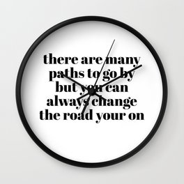 may paths Wall Clock