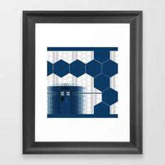 Tardis Doctor Framed Art Print