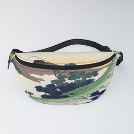 "Hokusai (1760-1849)  ""Inume Pass"" Fanny Pack"