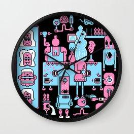 in Dark Wall Clock