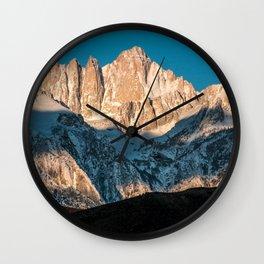 Mt Whitney Sunrise   3-22-20 Wall Clock