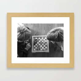 chess Framed Art Print