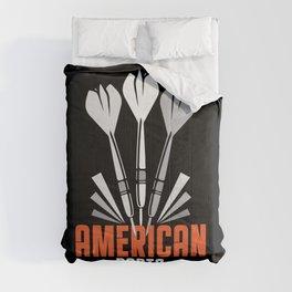 American Darts Bullseye Arrow Triple Target Comforters