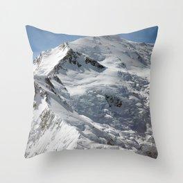 Denali Peak Throw Pillow