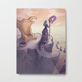 Feather Island Metal Print