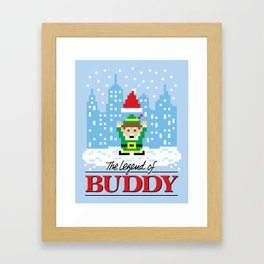 The Legend of Buddy Framed Art Print