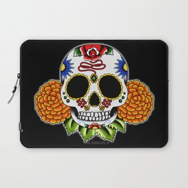 Day of the Dead Flash | Sugar Skull  Laptop Sleeve