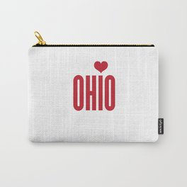 Ohio Heart Carry-All Pouch