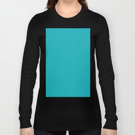 Dark Turquoise Long Sleeve T-shirt