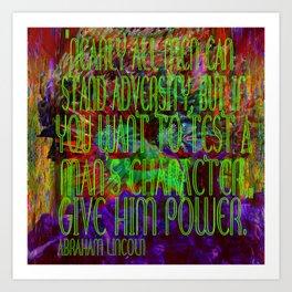 Chaos and Power Art Print
